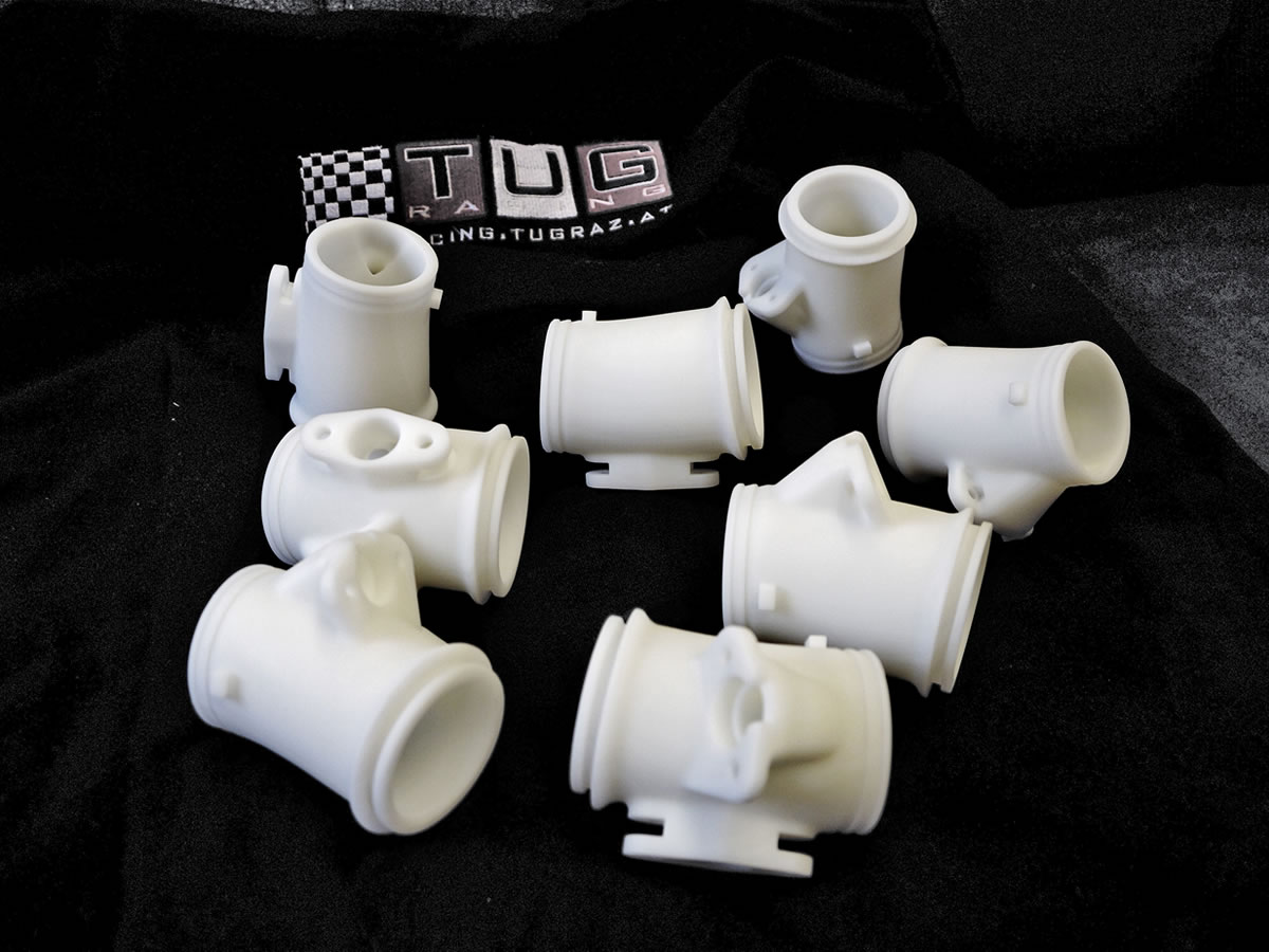 TU Graz Racing Team Prototypenteile intakes